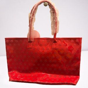 Elizabeth Arden New Oversized Floral Cut Out Tote